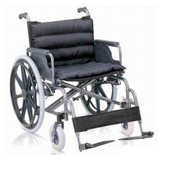 Wheel Chair Red Small Wheels 904B