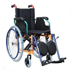 Wheel Chair Black Extra Wide FS951B