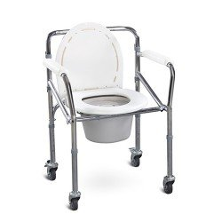 Commode 696 W/Wheels