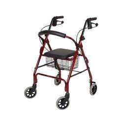 Walker W/4 wheels & seat