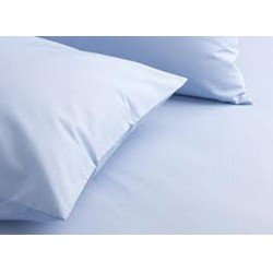 Blue Bed Sheet & Pillow Cover