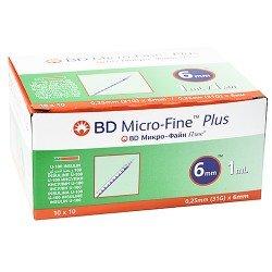 BD Insulin 31Gx6mm