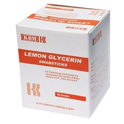 Lemon-Glycerin SwabSticks