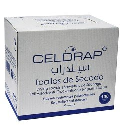 """Cleaning Wipes 10""""x13"""" Spain"""