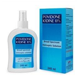 SPI Povidone Iodine Spray 10% 240ml