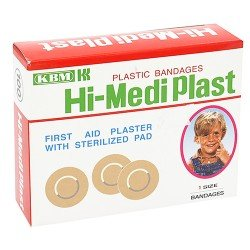 Hi-Medi Plaster Round Japan