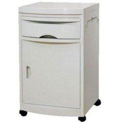 Bedside Cabinet w/Wheels
